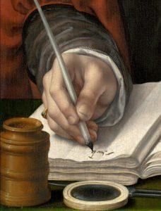 Hand door Jan Gossaert,1530, Portretschool Amsterdam