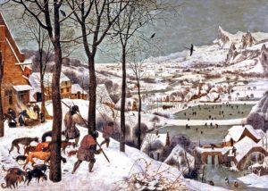 Breughel de Oudere, Jagers in de sneeuw