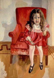 Kinderportret door Alice Neel, Portretschool Amsterdam