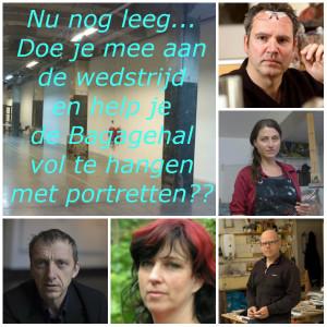 Jury My Painty en Bagagehal Loods 6, Portretschool Amsterdam
