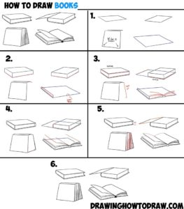 Boeken tekenen