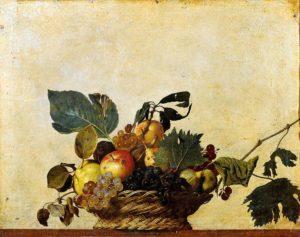 Canestra di frutta (Caravaggio), Portretschool Amsterdam