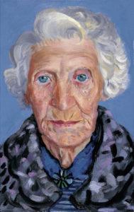 David Hockney, portret van zijn moeder, Portretschool Amsterdam, moederdag
