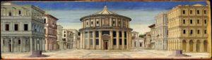 Piero della Francesca, De ideale stad, Portretschool Amsterdam