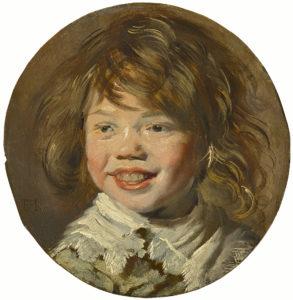Frans Hals, Portret van een lachende jongen, 1625, Portretschool Amsterdam