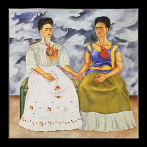Frida Kahlo, the two Fridas, Portretschool Amsterdam