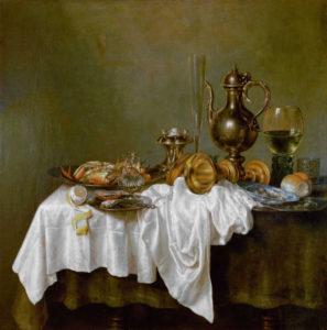 HEDA, WILLEM CLAESZOON, ontbijt met krab, Spring Art Challenge, #001SPARC, Portretschool Amsterdam