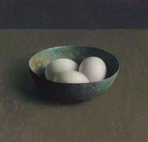 Henk Helmantel, Bronzennap met 3 eieren