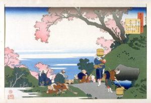 Hokusai, lente, Portretschool Amsterdam