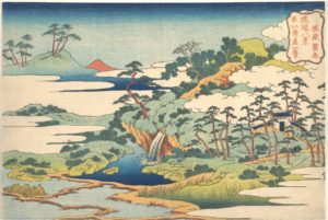 Hokusai, the sacred spring