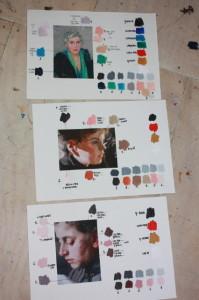 Kleuranalyse bij Portretschool Amsterdam