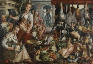 Joachim Beuckelaer, De Welvoorziene Keuken, Rijksmuseum Amsterdam