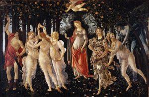 Botticelli, La primavera, Portretschool Amsterdam