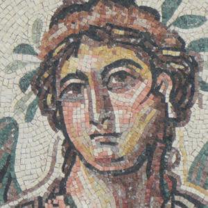 Romeins Mozaïek, Flora uit Tunesië, Portretschool Amsterdam