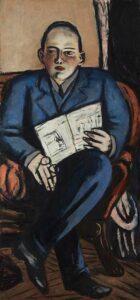 Max Beckmann portret