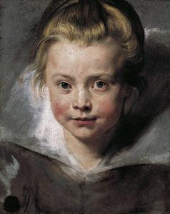 Peter Paul Rubens, dochtertje Clara, workshop model schetsen in olieverf Portretschool Amsterdam