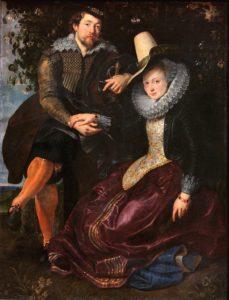 Peter Paul Rubens en zijn vrouw Isabella Brant, 1609, workshop model schilderen Portretschool Amsterdam