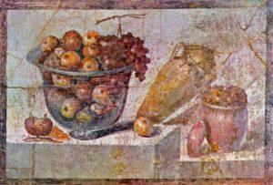 Pompeii, stilleven uit de villa van Julia Felix, Portretschool Amstedam
