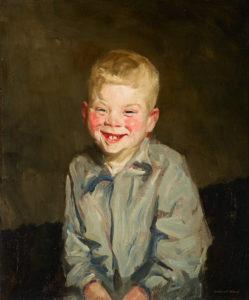 Robert Henri, Lachende jongen, 1910, Portretschool Amsterdam