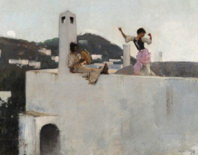 John Singer Sargent, Capri