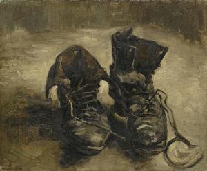 Schoenen van Vincent van Gogh
