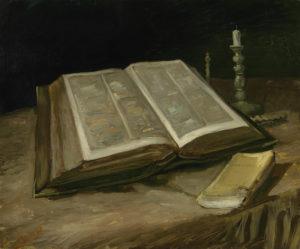 Van Gogh, Stilleven met Bijbel, Van Gogh Museum