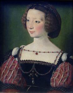 Jean Clouet, portret van Beatrix Pacheco, 1539, cursus portret in fijnschildertechniek, Portretschool Amsterdam