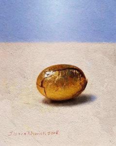 Jos van Riswick, stilleventje paaseitje goud