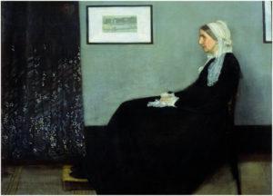 Whistler, mother, Portretschool Amsterdam, moederdag
